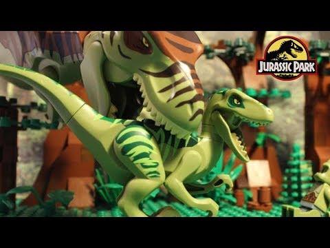 Lego Cyclops - Jurassic Park 2 - Stopmotion