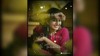 Theivamey..😘 Deivame Intha Ponnu En Kannula Kattuna Song Whatsapp Status💕 Radhi Fl