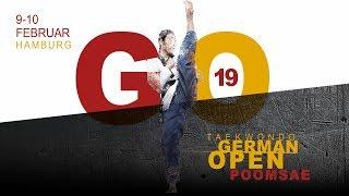 Taekwondo German Open Poomsae 2019 - Day 01