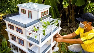 building-dream-mini-house-model-with-drywall-and-aluminum