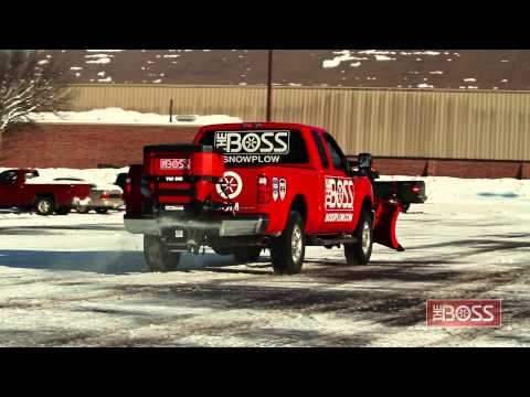 BOSS Tailgate Spreaders in Action