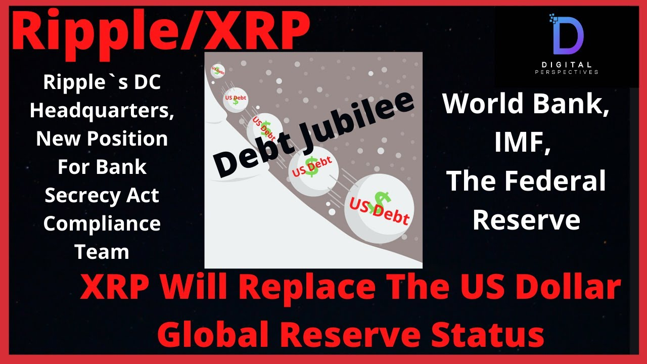 Ripple/XRP-The US Dollar Is Dying Fast,Debt Jubilee,IMF World Bank,The Fed,China Dumps US Bonds #Ripple #XRP