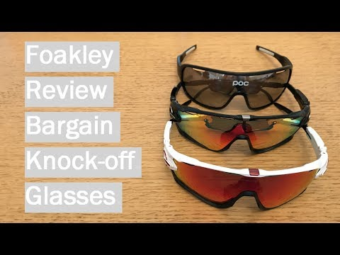 Fake Oakley Review & Comparison – Foakley and POCs