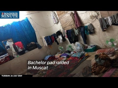 Bachelor pad raided in Muscat