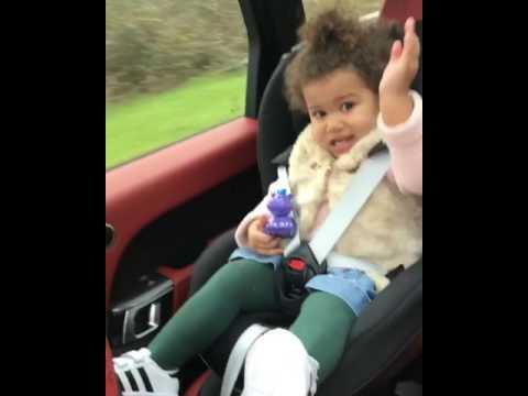 Baby singing