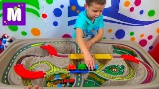Cтол - трек Дорога над Каньоном Степ2 распаковка детского стола