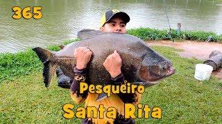 Programa Fishingtur na TV 365 - Pesqueiro Santa Rita