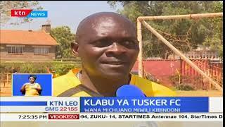 Klabu ya Tusker FC yawania kuchuana na klabu ya kandanda ya Kariobangi Sharks kwa ligi ya KPL