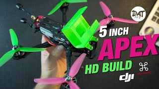 Apex 5 inch fpv drone Build with DJI HD fpv system