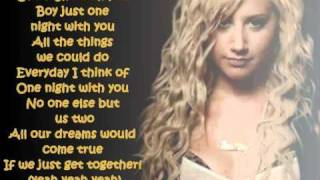 Ashley Tisdale- He said she said LYRICS
