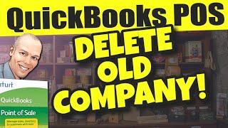 QuickBooks POS: Delete Old Company File
