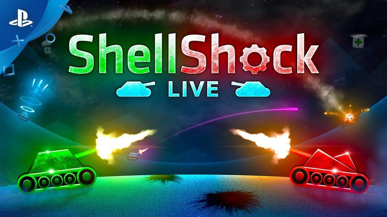 Анонсирующий трейлер игры ShellShock Live
