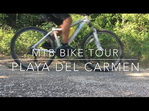 MTB Bike Tour in Playa Del Carmen