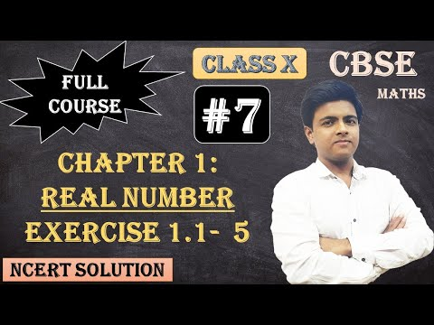 CBSE Full Course | 1 - Real Numbers | Exercise 1.1: 5.Use Euclid's division lemma to show that the cube of any positive integer is of the form 9m, 9m + 1 or 9m + 8.