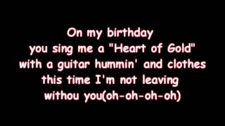 Lady Gaga   You and I   Lyrics on screen