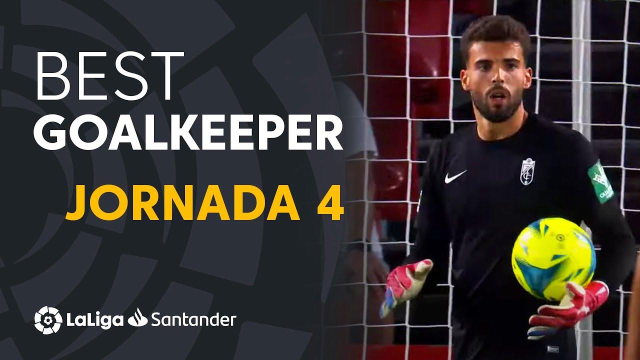 LaLiga Best Goalkeeper Jornada 4: Luís Maximiano