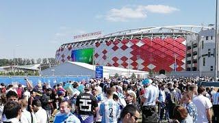 За 2 часа до матча Аргентина-Исландия | Sport24