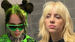 Billie Eilish Goes BLONDE and Reveals Signature Black/Green Hair Is a WIG!