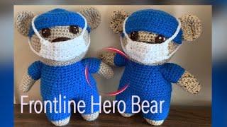 How To Crochet Frontline Hero Bear| Beginner Friendly Crochet Amigurumi AND GIVEAWAY