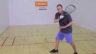 Rocky Carson Racquetball Backhand Tip