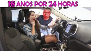18 ANOS POR 24 HORAS!! | Bela Bagunça