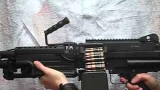 Страйкбол, M249SAW(MINIMI PARA)