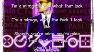 Chris Brown Mirage lyrics