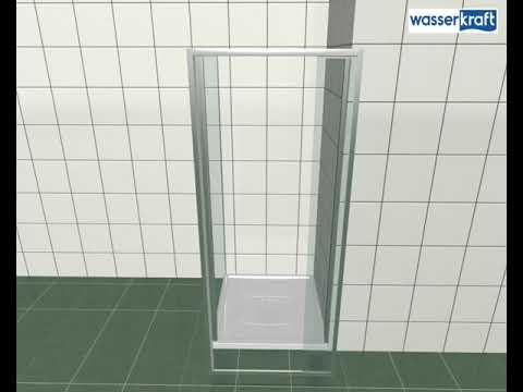 Видеоинструкция по монтажу душевых дверей коллекций Berkel 48P