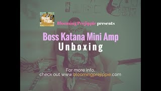 Boss Katana Mini-Amp Unboxing