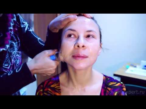 Видео гимнастика для лица от мимических морщин
