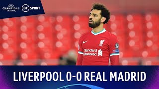 Liverpool v Real Madrid (0-0) | Reds Crash Out After Anfield Stalemate | Champions League Highlights