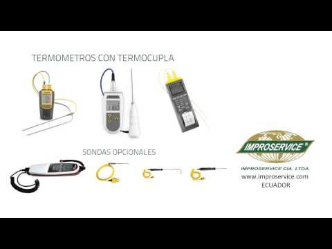 ~Termómetros con termocupla - ECUADOR