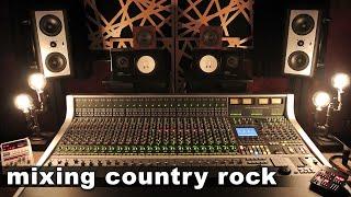 Daniel Duskin - Mixing Analog on an SSL (Country Rock)