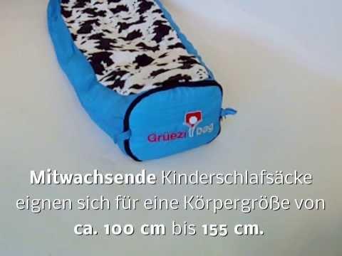 mitwachsender Kinderschlafsack, so funktionierts - Outdoorartikel24.de-TV