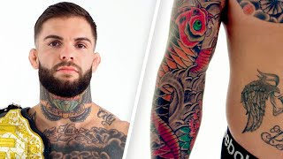 UFC Fighter Cody Garbrandt Explains His Tattoos | Tattoo Tour | GQ