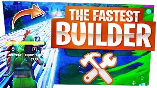 The FASTEST Builder in Fortnite! - Funny Stream Highlights in Fortnite BR