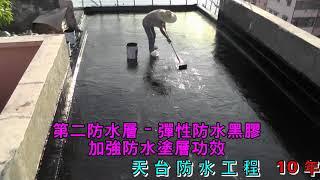 天台防水工程Waterproof (10年保用)