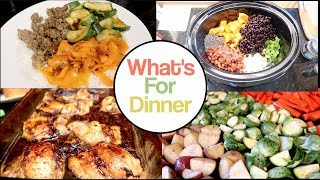 What's For Dinner!  Week of Dinner Inspiration / Ideas! Simple, Easy, Real!