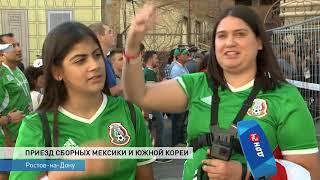 Сборная Мексики заселилась в отель в Ростове