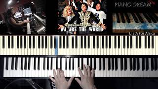 We Are The World  --  M Jackson  -- USA For Africa