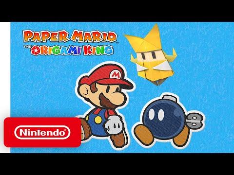 Bande-annonce récap de Paper Mario: The Origami King