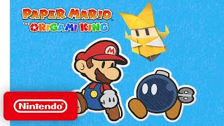 A Closer Look at Paper Mario: The Origami King - Nintendo Switch