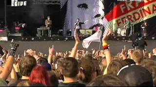 Franz Ferdinand Take Me Out/The Fallen/Darts of Pleasure Live At Rock Am Ring 2006