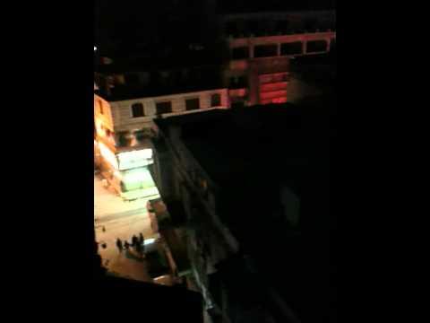 """بالفيديو.. انسحاب """"الشرطة"""" بالإسكندرية ورصاص عشوائي فى بعض الشوارع"""