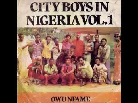 City Boys Band Of Ghana – City Boys In Nigeria Vol. 1 – Owuo Nfame 70's GHANA Highlife Folk ALBUM