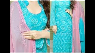 SUPPER DUPPER COLOUR COMBINATION FOR DRESSES|| NEW COLOUR CONTRAST IDEAS