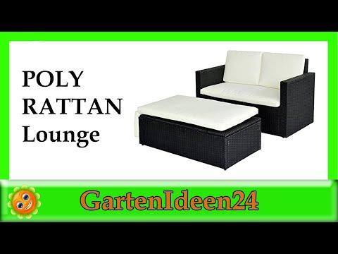 POLY RATTAN Lounge Gartenset |  Gartenideen hilft Dir bei der Suche nach dem  Garten Loungemöbel