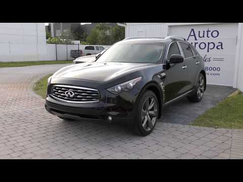 This 2009 Infiniti FX50s is a Ridiculous V8 Powered Crossover, and I Love It