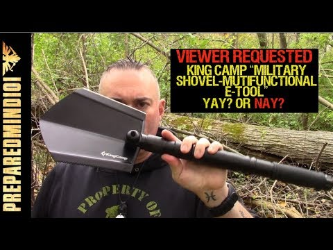 King Camp Military Shovel: Viewer Requested Review- Preparedmind101