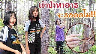 ผู้หญิงสวยมักอยู่ในป่าลึก หาแนวกินจ้า เข้าป่า !! ชาเน่นะนุ่น S2 EP206